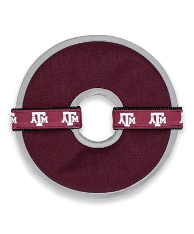 Texas A&M Flying Disc Squeaky Dog Toy