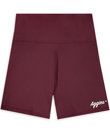 Maroon Aggies Biker Short
