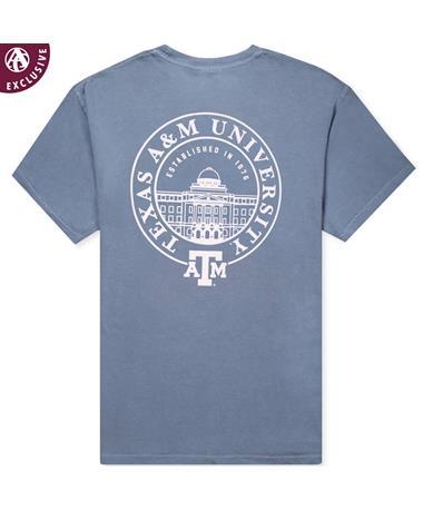 Texas A&M Academic Building Seal T-Shirt Comfort Colors