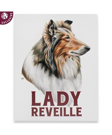 Lady Reveille Note Card
