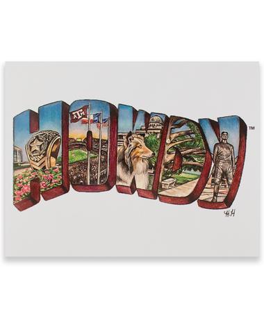 Hailey Howdy Card