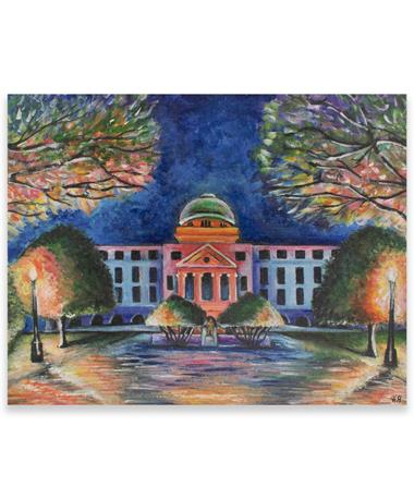 Colorful Academic Card