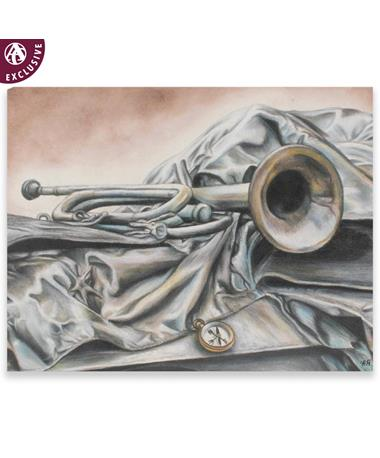 Trumpet Note Card