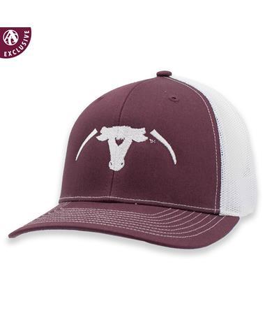 Maroon Saw 'Em Off Richardson Mesh Hat