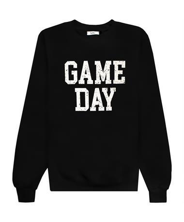 GAME DAY Black Sweatshirt