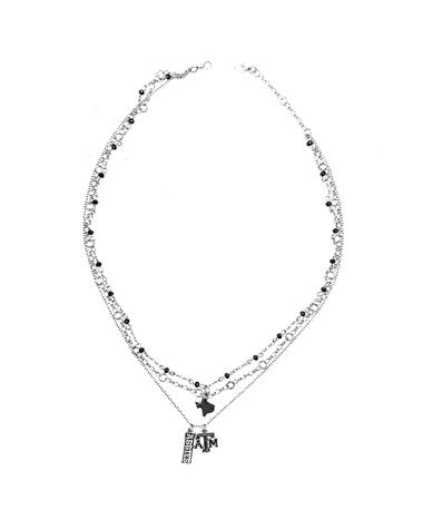 Texas A&M Charm Necklace