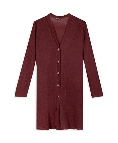 3/4 Length Cardigan with Pockets