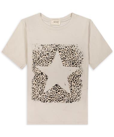 Leopard Star Tee