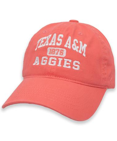 Texas A&M Aggie Coral Prisma Cap