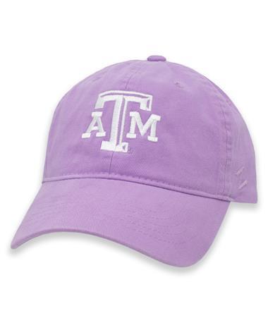 Texas A&M Zephyr Lavender Prisma Scholarship ATM Cap