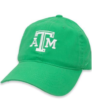 Texas A&M Zephyr Sea Green Prisma Scholarship ATM Cap