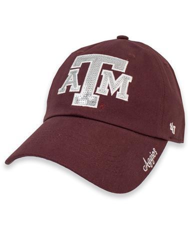 Texas A&M '47 Brand Women's Sparkle Clean Up Hat