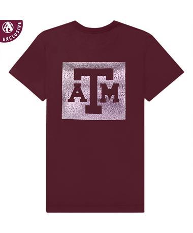 Texas A&M War Hymn Block ATM T-Shirt