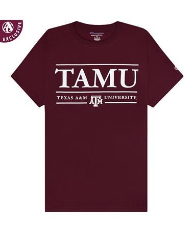 Texas A&M TAMU Lined T-Shirt