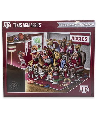 Texas A&M Aggie A Real Nailbiter 500 pc Puzzle
