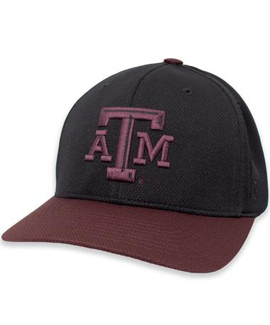 Texas A&M Reflex Two-Tone L/XL Fitted Hat
