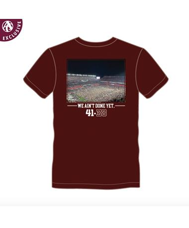 PRE-ORDER ITEM: We Ain't Done Yet Rushing The Field T-Shirt