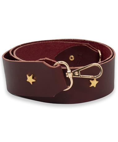 Aggie Leather Strap with Star