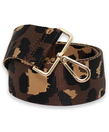 Brown Cheetah Strap