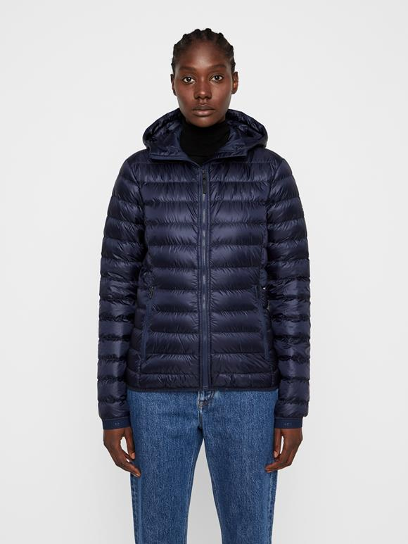 Light Down Hooded Jacket
