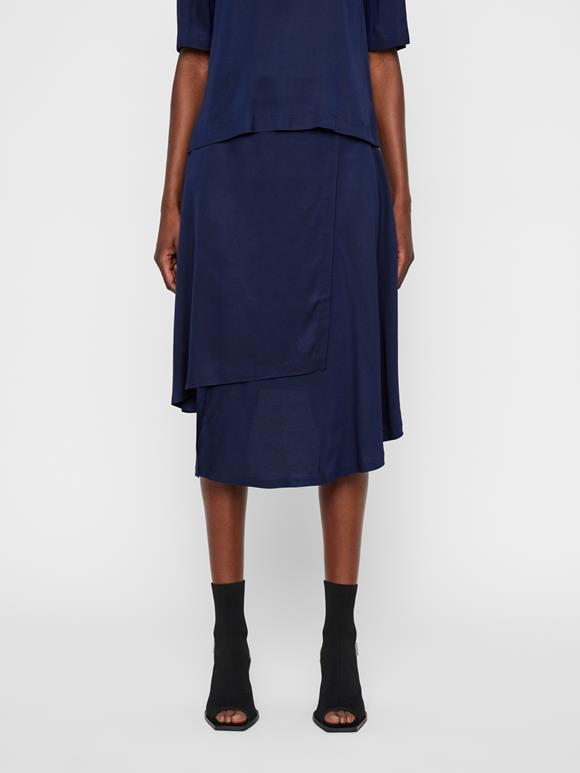 Lizzy Twill Wrap Skirt
