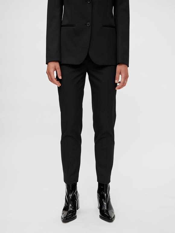 Rylie Tapered Wool Pants