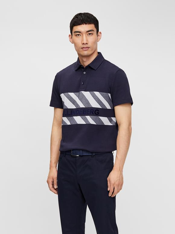 Adam Club Pique Jacquard Polo