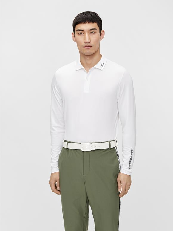 Jakob Slim Long Sleeve Golf Polo