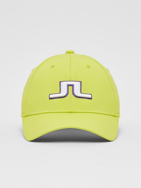 제이린드버그 남성 골프 캡 모자 J.LINDEBERG Angus Golf Cap,Leaf Yellow