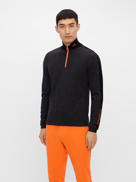 Zam Zipped Golf Sweater