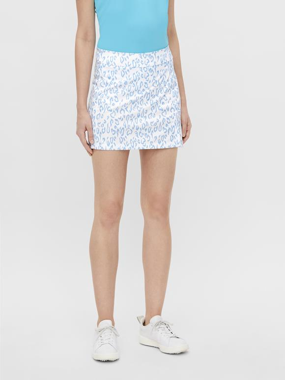 Amelie Printed Mid-Length Golf Skirt