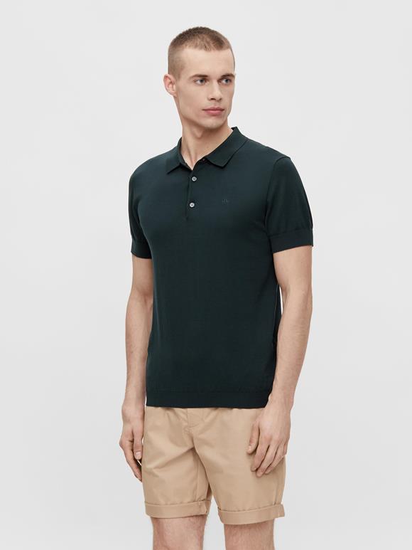 Ridge Cotton Silk Polo