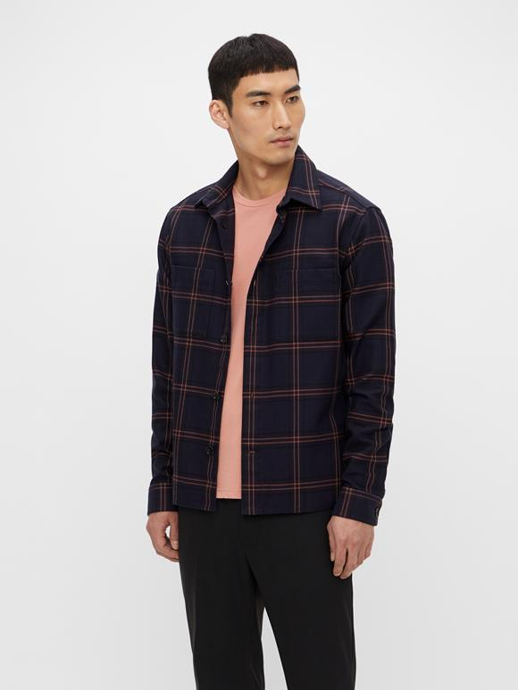 Structured Check Overshirt