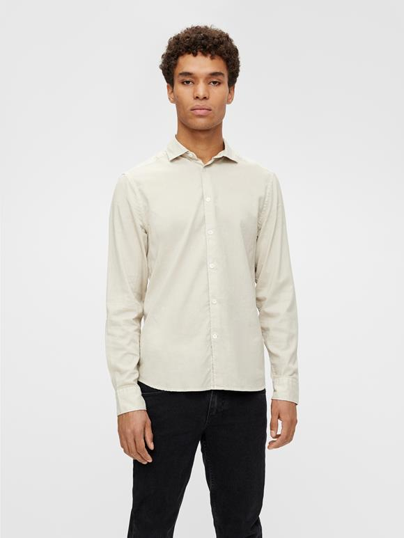 Airy Oxford Slim Shirt