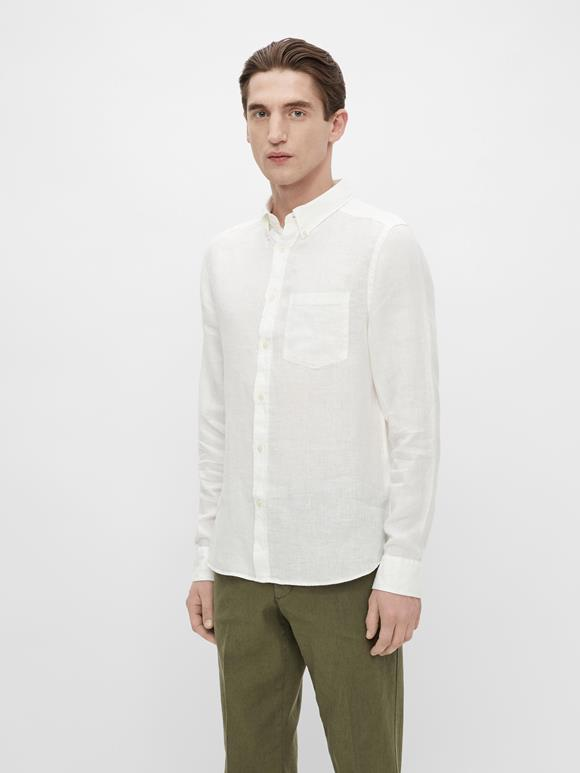 Clean Linen Slim Shirt