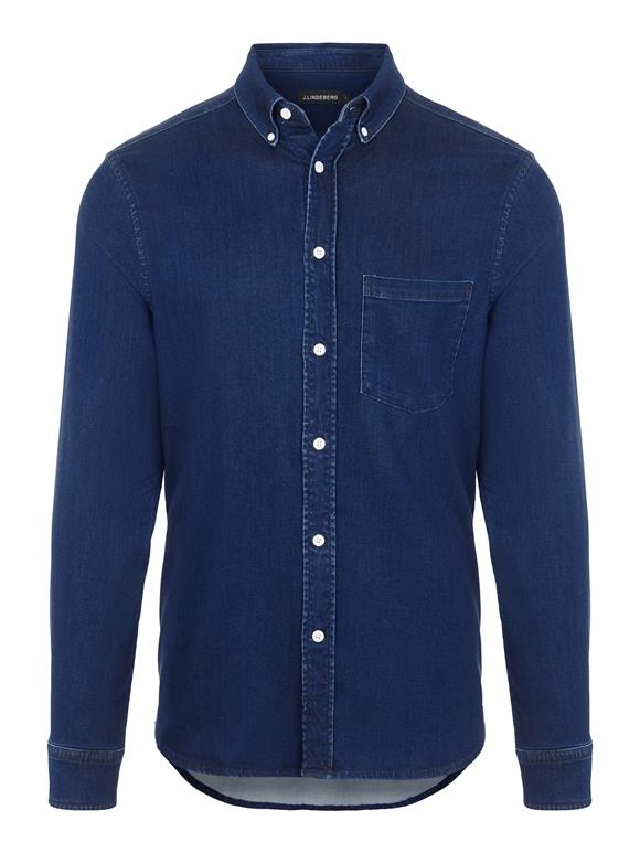 Indigo Soft Stretch Slim Shirt