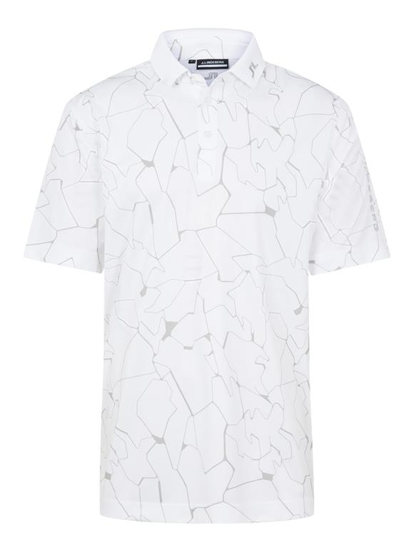 Tour Tech Print Polo Relaxed Fit