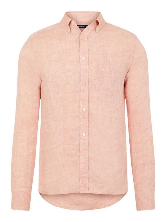 Linen Melange Slim Shirt