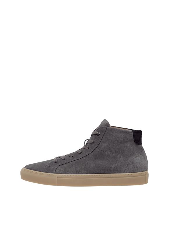 Sneaker Hightop Suede