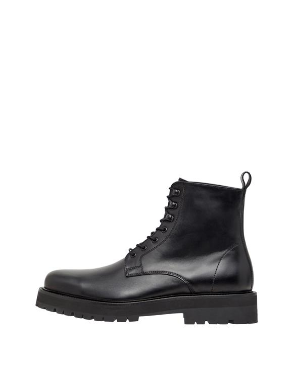 Army Leather Boot