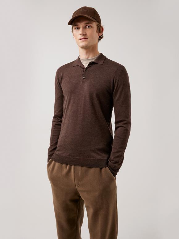 Noel Light Merino Polo Shirt