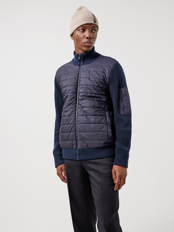 Beck Knitted Hybrid Jacket