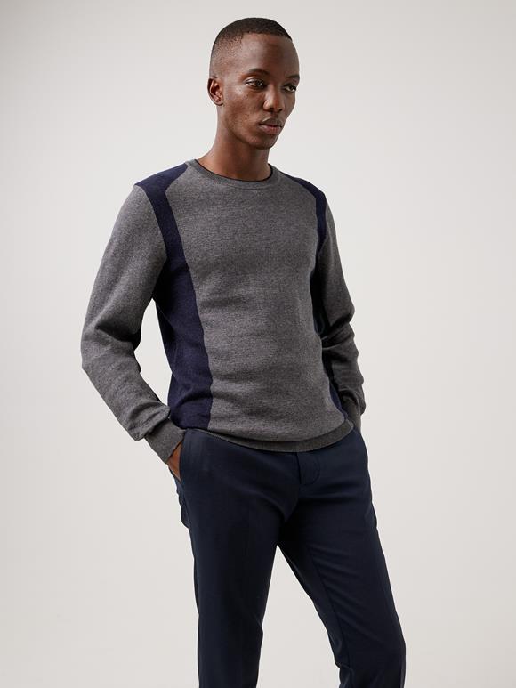 Owen Color Block Sweater