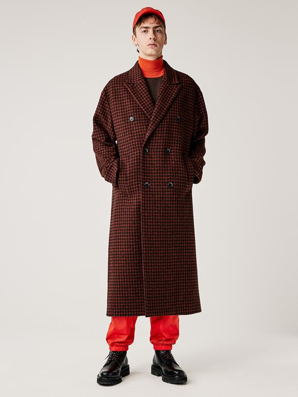 Willy Houndstooth Coat
