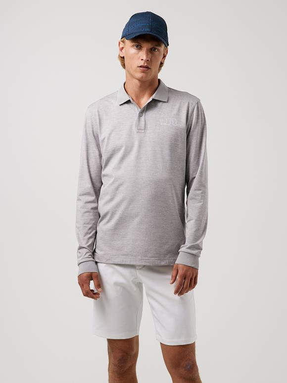 Bridge Long-Sleeve Golf Polo