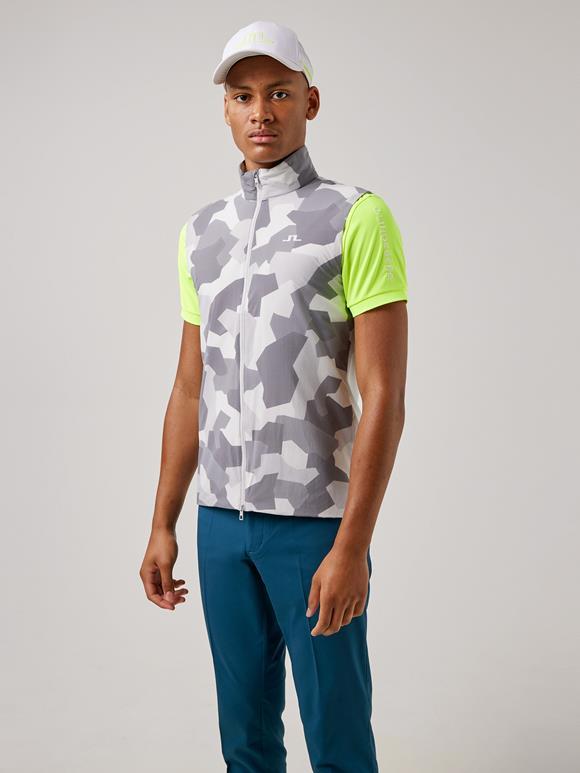 Packlight Print Golf Vest