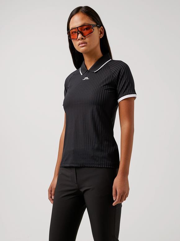 제이린드버그 골프웨어 폴로 반팔티  J.LINDEBERG Sevina Golf Polo,Black