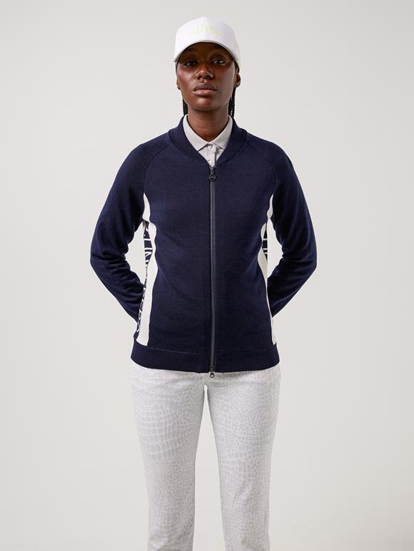Dina Windbreaker Golf Sweater