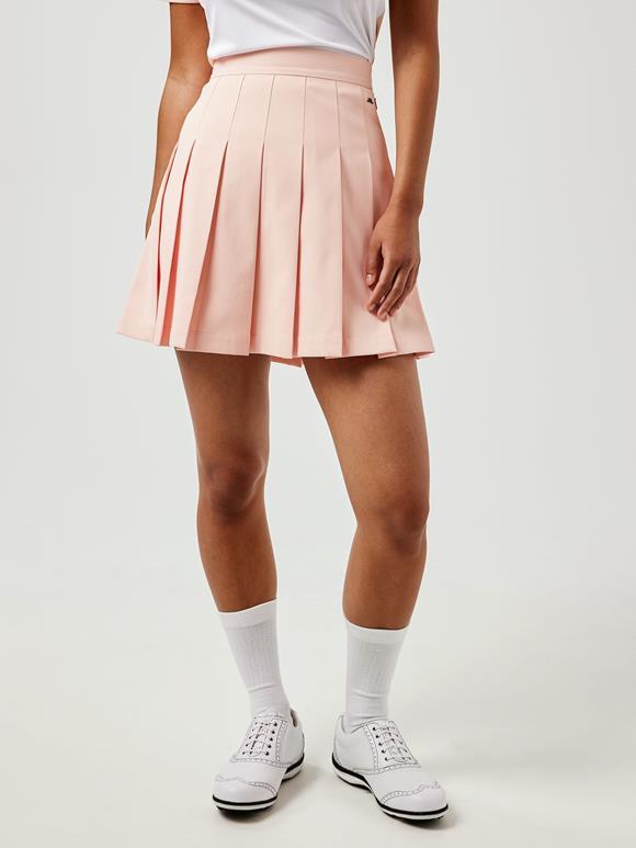 제이린드버그 골프웨어 플리츠 치마 J.LINDEBERG Adina Golf Skirt,Pale Pink