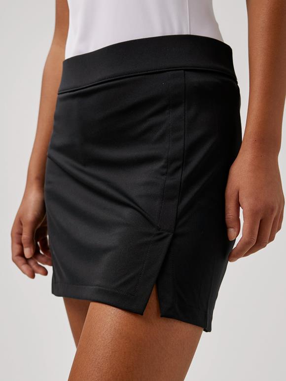제이린드버그 골프웨어 치마 J.LINDEBERG Amelie Mid Golf Skirt,Black